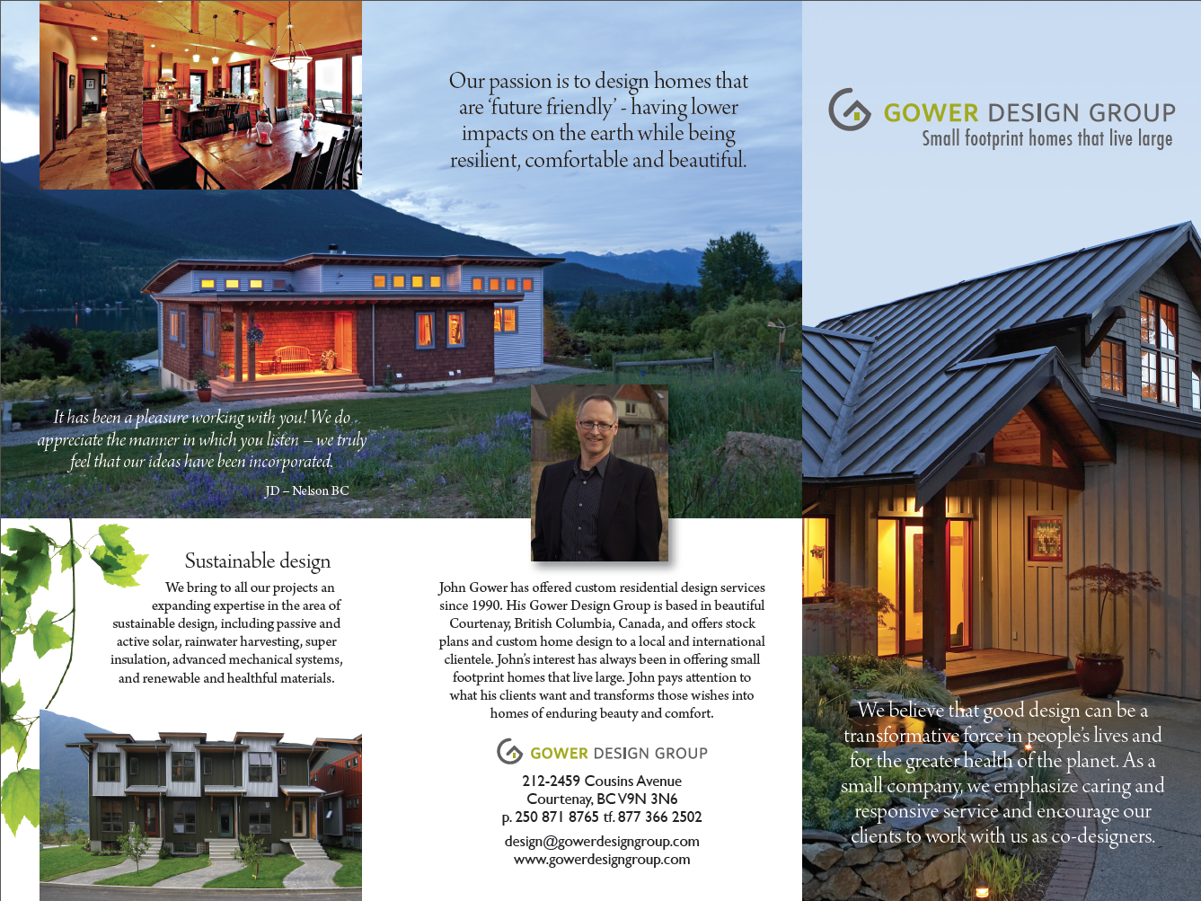 Gower Design Group brochure