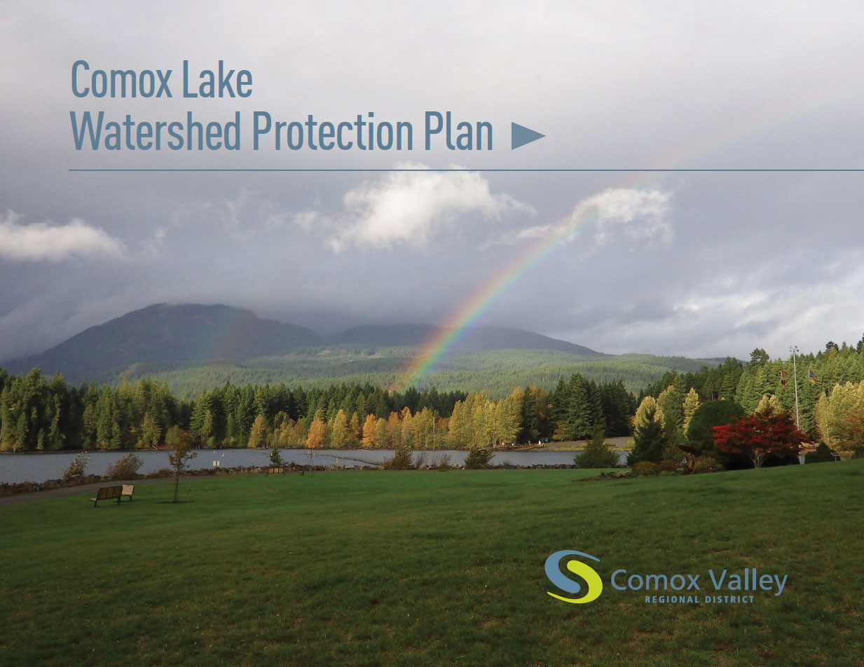 Comox Lake Watershed Protection Plan cover
